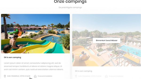 Onze Camping