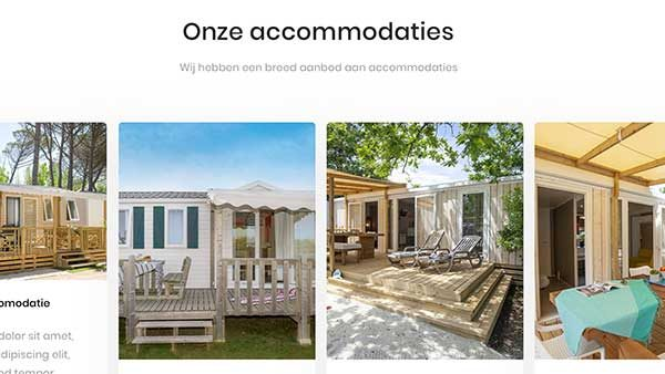 camping accommodaties